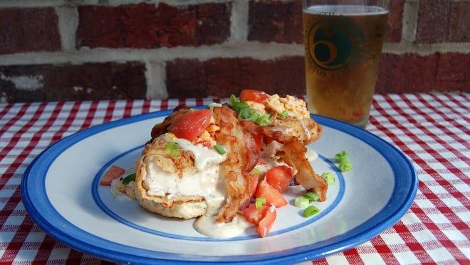 The Louisville Slugger brunch dish at Main Street Tavern in Covington