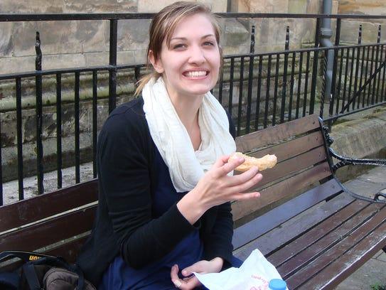 Emily Selke, a recent Drexel University graduate and