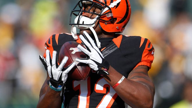 Mohamed Sanu had only 17 receptions for 162 yards (9.5 yards per catch) and only one touchdown in the final eight games.