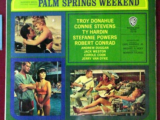 Palm Springs Weekend poster