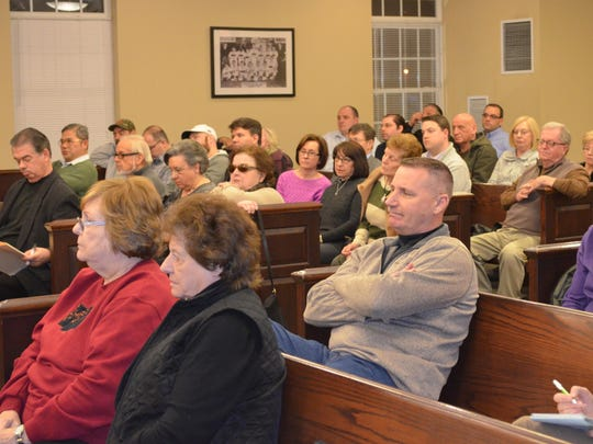 More than 50 residents and business owners attended