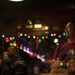 Audience members laugh at last year's Orlando Indie Comedy Festival