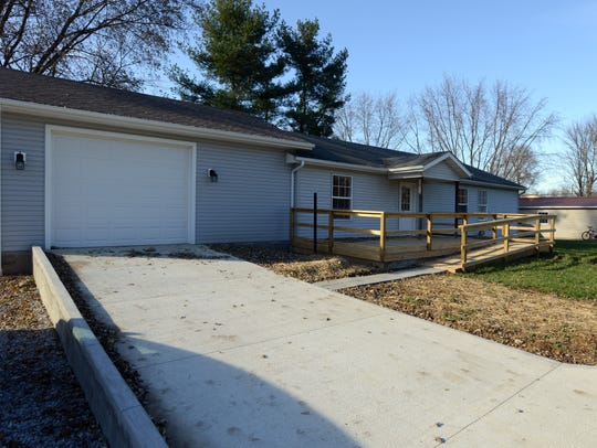 Darren Appleman moved into this newly renovated home