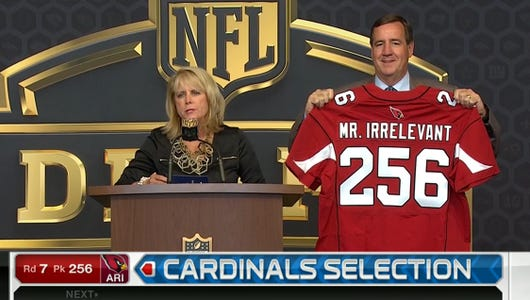 Cardinals draft Mr. Irrelevant