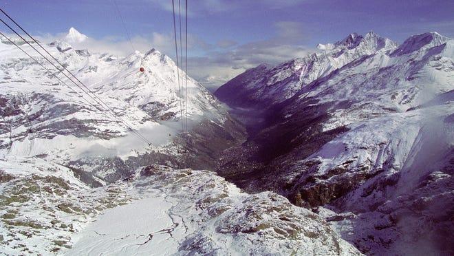"JR Lynch; ""Zermatt, Switzerland""- photograph."