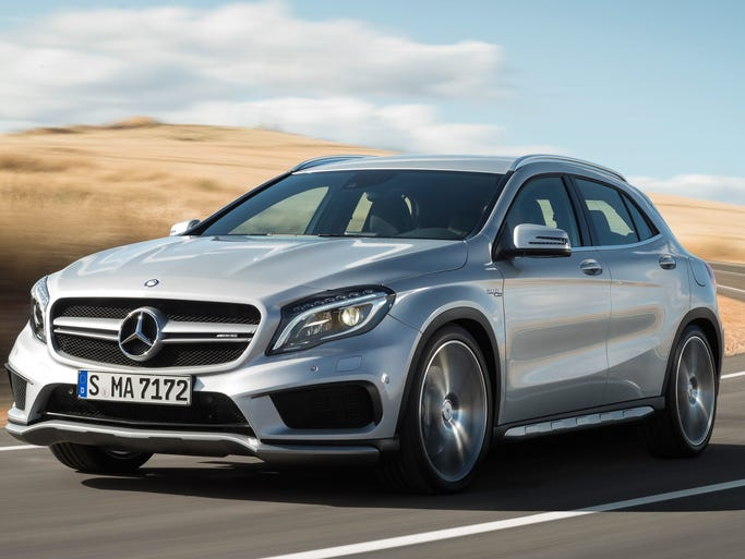 Mercedes-Benz GLA AMG has looks and performance aimed at young buyers