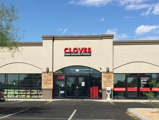 Cloves Indian Groceries and Kitchen opened in the back