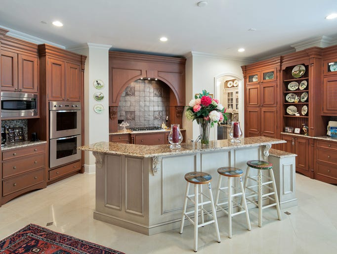 Kitchen cabinets asbury park nj - The Kitchen Features Granite Counter Tops Rich Rutt