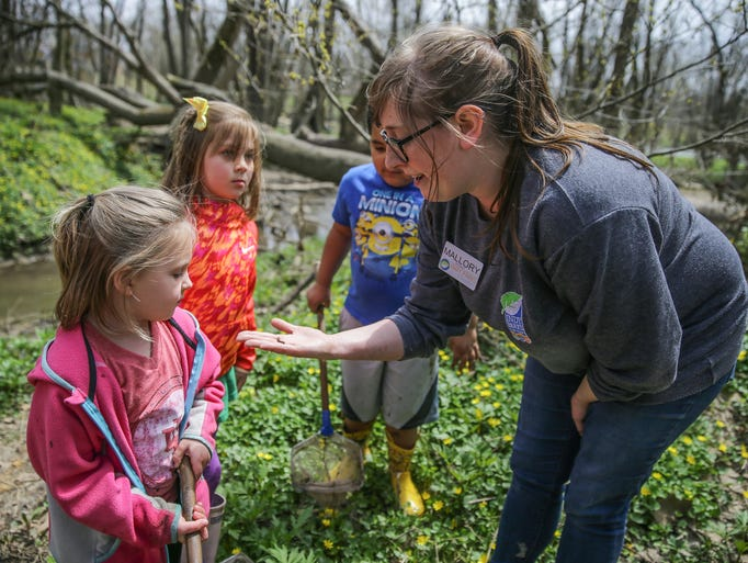 Holliday Park Nature Center Naturalist Mallory Kirby,