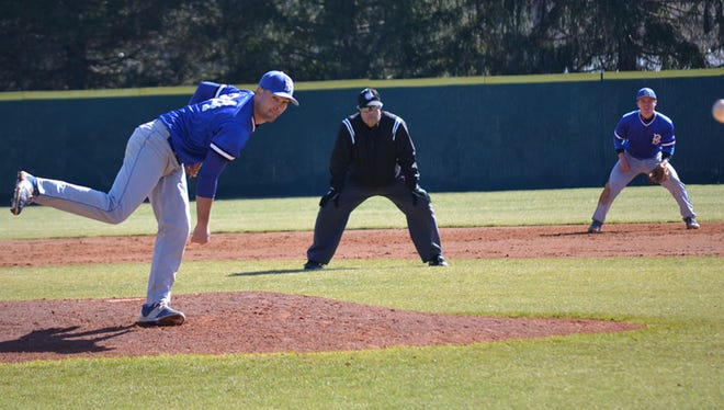 North Henderson alum Hunter Donaldson is a junior for the Brevard College baseball team.