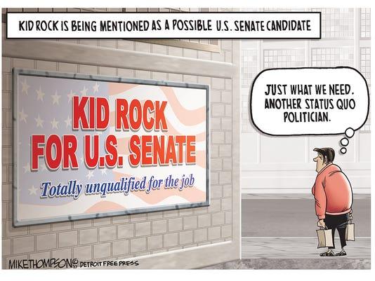 Kid Rock for U.S. Senate?