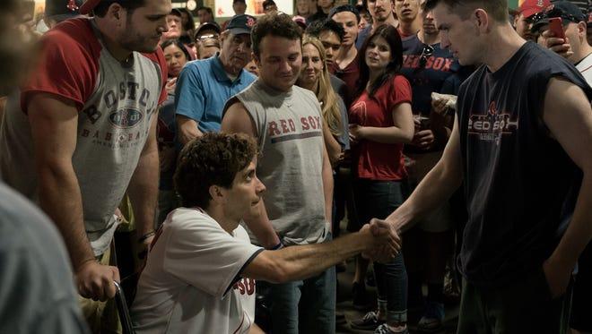 """Jake Gyllenhaal in """"Stronger."""""""