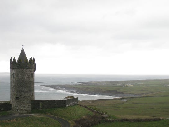 The hospitable west coastal town of Doolin in County