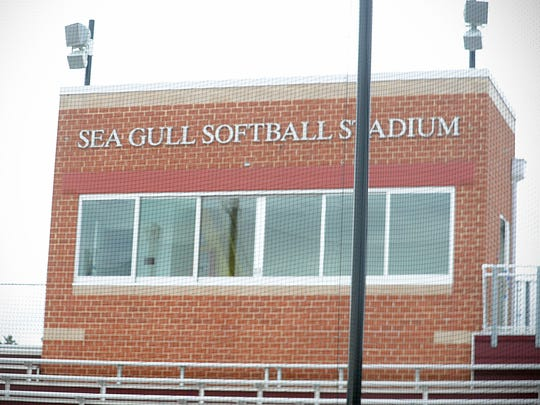 The new Sea Gull Softball Stadium now has a fully functioning