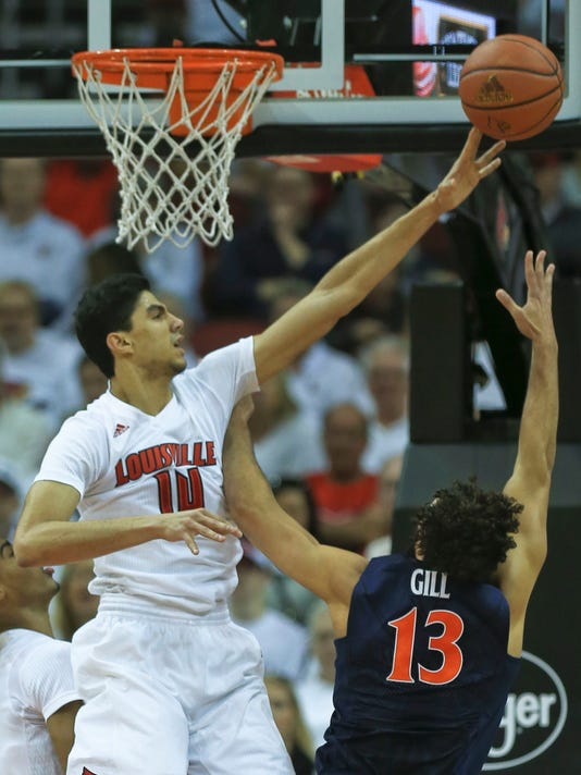 Louisville basketball   4 Cards games get TV channel assignments