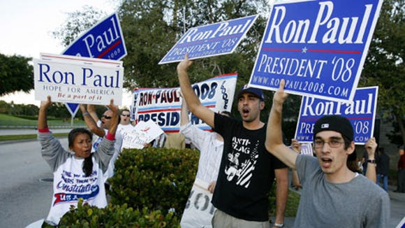 Rand hopes there's a bunch of these people still hanging