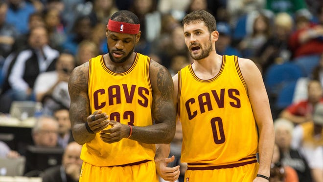 Whether Kevin Love returns next season is a big question for Cleveland.