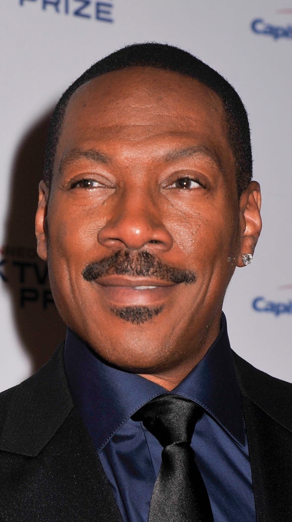 Honoree Eddie Murphy poses on the red carpet during