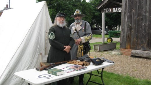 "Civil War ""History Day"" will include several Civil War reenactors on June 20 at Smithville Community Historical Society's Pioneer Village."
