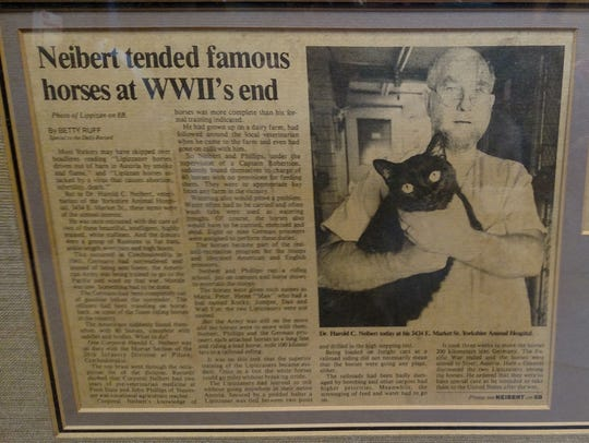 News article about Harold Neibert's assistance in saving
