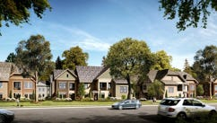 A rendering of the Crescent Lockwood Glen apartments.
