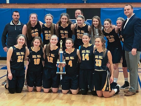 The Del Val High School girls' were triumphant in the Metuchen Bulldogs Holiday Classic.