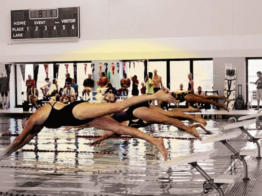 Five Lincoln County seniors competed in various swimming events at the New Mexico Senior Olympics.