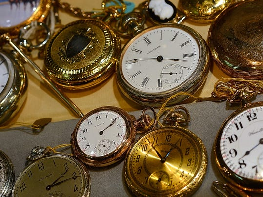 Watchmaker's Daughter, 22 N. Beaver Street,  is celebrating its 70th anniversary with a 2-day celebration starting First Friday, Aug. 1, with a Gem Give Away to 70 customers. Wednesday July 22, 2015.  John A. Pavoncello - jpavoncello@yorkdispatch.com