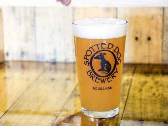Spotted Dog's Spring Thing is a Belgian style farmhouse ale. that will be offered at Blazin' Brewfest on Friday, May 11.