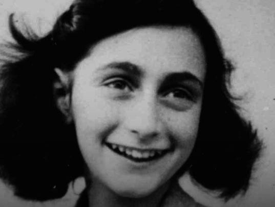 Anne Frank at age 13 in 1942. She made her last diary entry 70 years ...