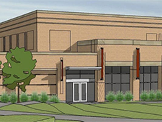 artist rendering of building