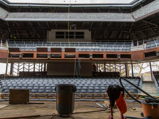 The new Engelstad Shakespeare Theatre is replacing the Utah Shakespeare Festival's historic Adams Theatre.