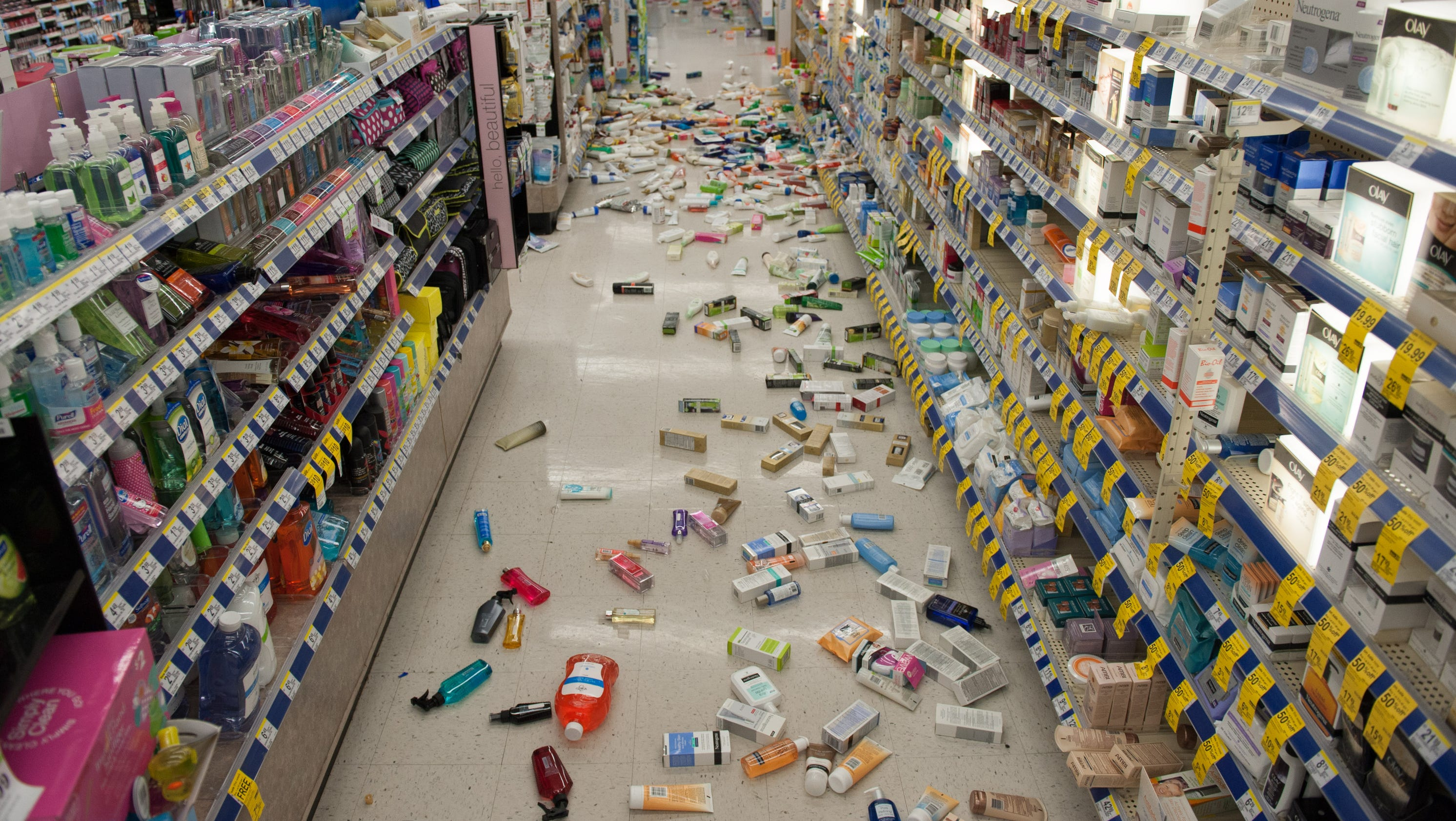 More than 100 aftershocks rattle Calif. after strong quake