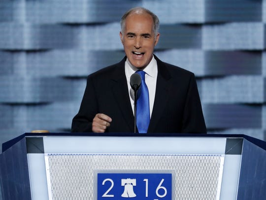 In this July 25, 2016 file photo, Sen, Bob Casey, D-Pa.,