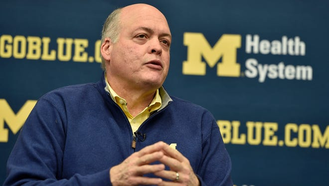 """The way I think about the Notre Dame thing is, that's a rivalry that should be restored and is destined to have that happen,"" said interim athletic director Jim Hackett."