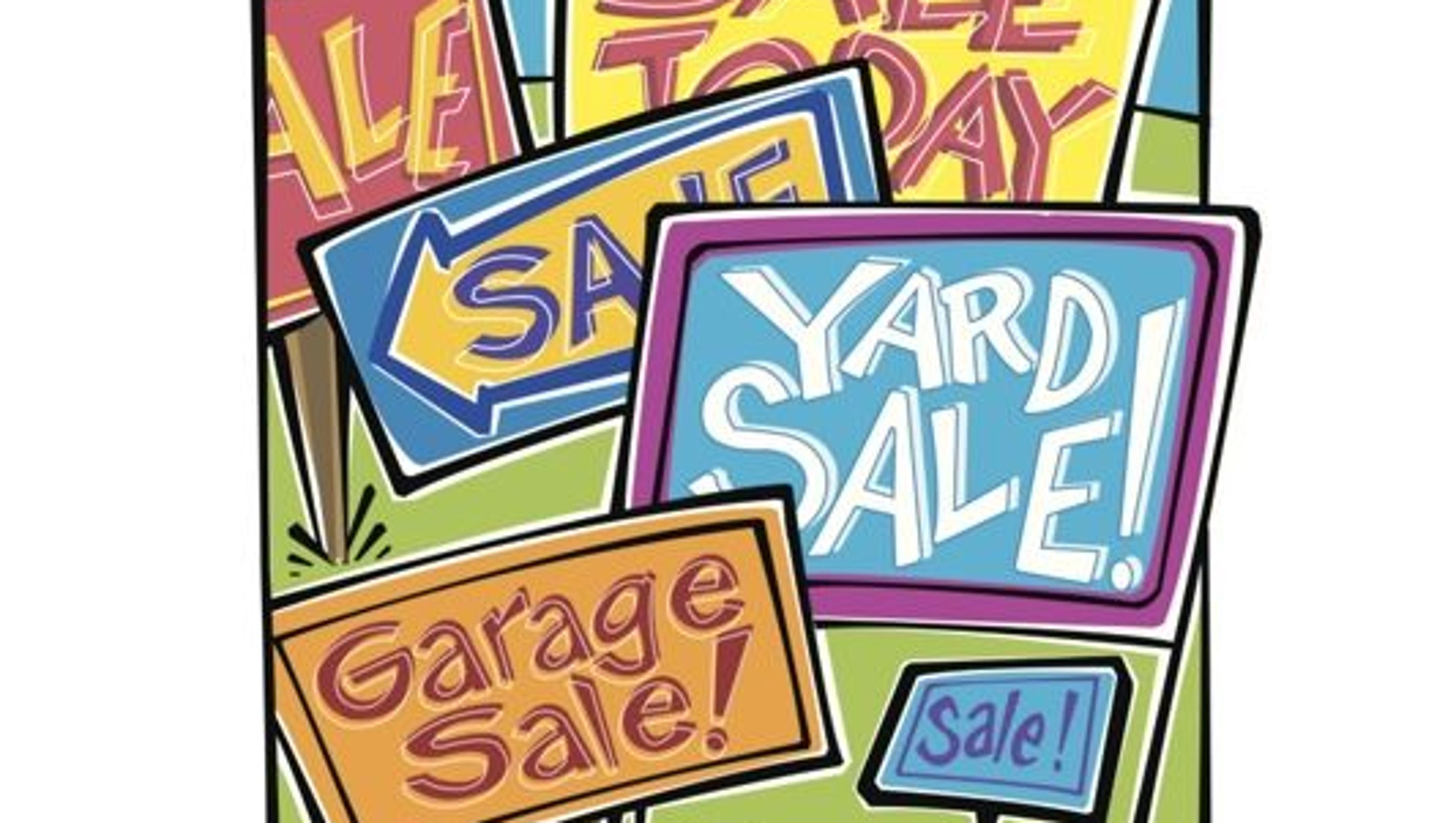 Free garage sale ad package