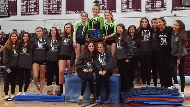 Six-time North 1 sectional champion Ramapo is The Record Gymnastics Team of the Year for the sixth straight season.