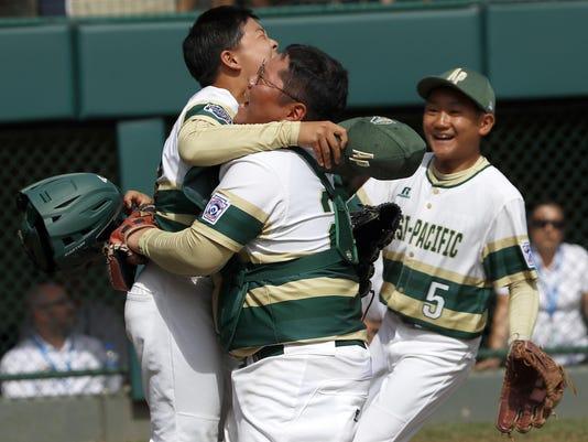LLWS Japan South Korea Baseball