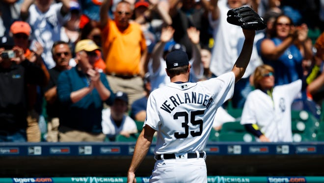 Justin Verlander finished second in the AL Cy Young ballot.