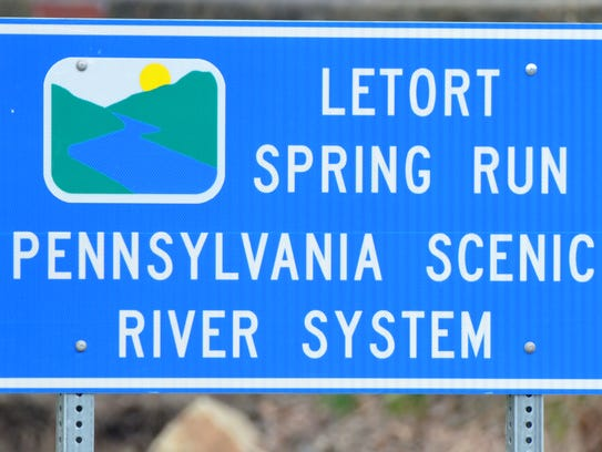 Letort Spring Run is part of the Scenic River System.