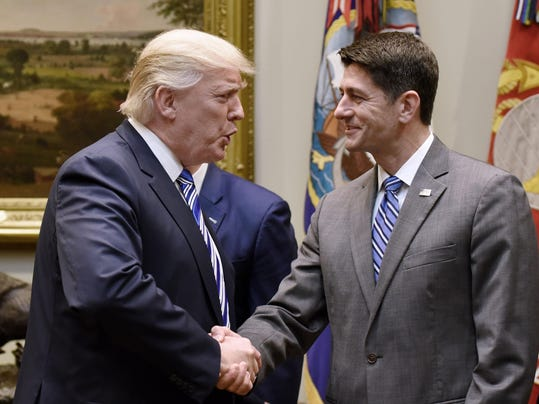 President Donald Trump Meets with House and Senate Leadership
