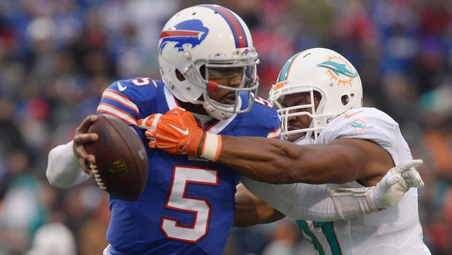 The Bills have done a masterful job of keeping their Tyrod Taylor decision under wraps.