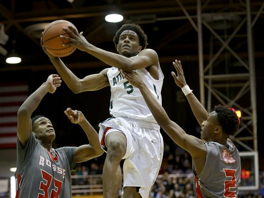 Crispus Attucks Tigers Jamal Harris (5)