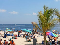 Point Pleasant Beach boasts great people-watching, silvery sand and even real palm trees.