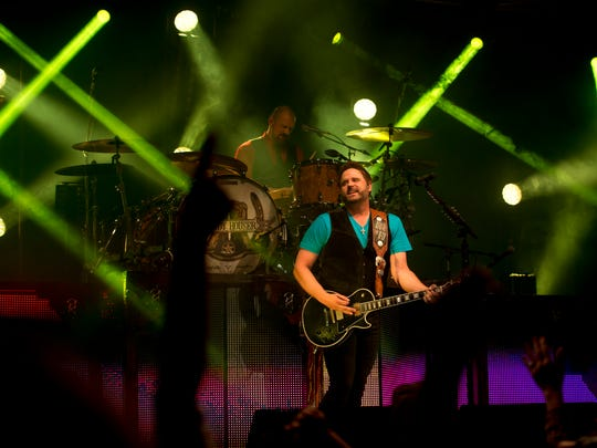 Randy Houser performs March 7, 2015, at the St. Lucie County Fair in Fort Pierce.