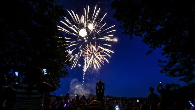 Highland Park in the Town of Union will host its annual Fourth of July fireworks celebration on Monday.