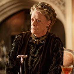 Maggie Smith as Violet, Dowager Countess of Grantham, on 'Downton Abbey.'
