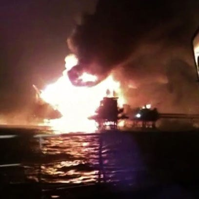 Screen grab from a video released by Diario Campeche