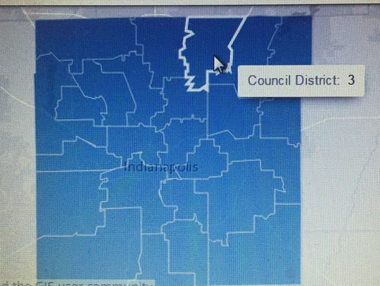 Marion County City-County Council District 3.