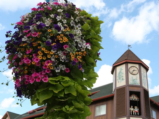 The glockenspiel can be appreciated year-round, not